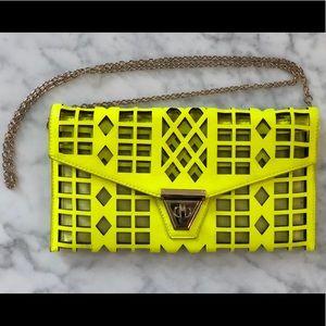 Neon yellow handbag - ZIE BOUTIQUE